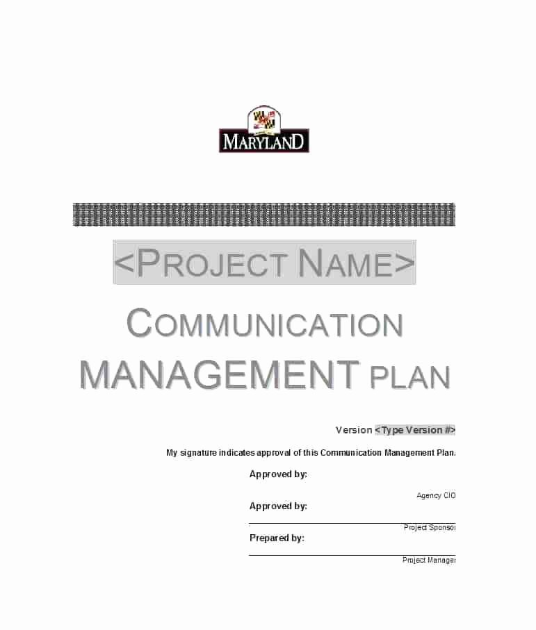 Simple Communication Plan Template Unique Munications Plan Template Free Download Easy Project