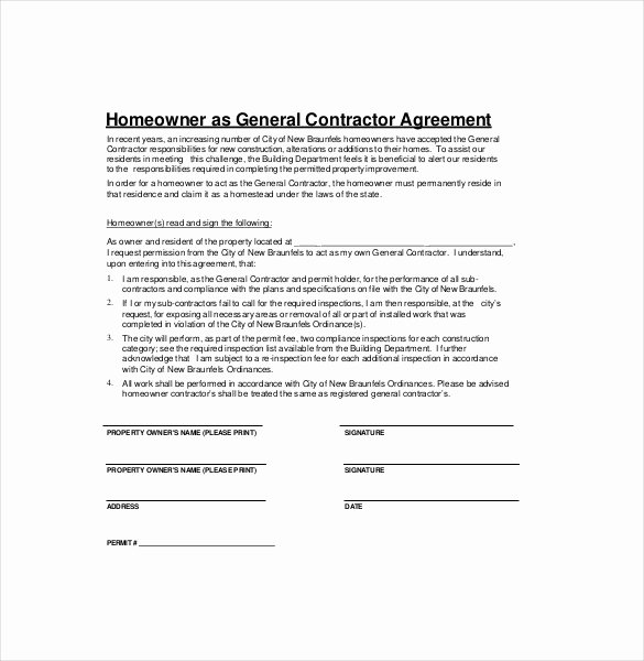 Simple Construction Contract Template Elegant Contractor Agreement Template – 22 Free Word Pdf Apple