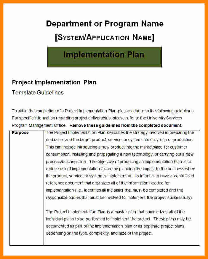 Simple Implementation Plan Template Luxury 5 Payroll Implementation Project Plan