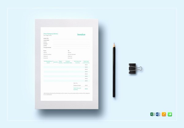 Simple Pro forma Template Luxury Proforma Invoice 13 Free Word Excel Pdf Documents