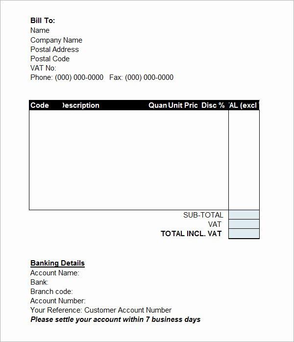 Simple Pro forma Template Luxury Simple Proforma Invoice Template