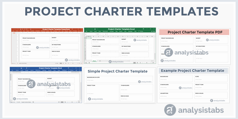 Simple Project Charter Template Beautiful Project Charter Template Analysistabs Innovating