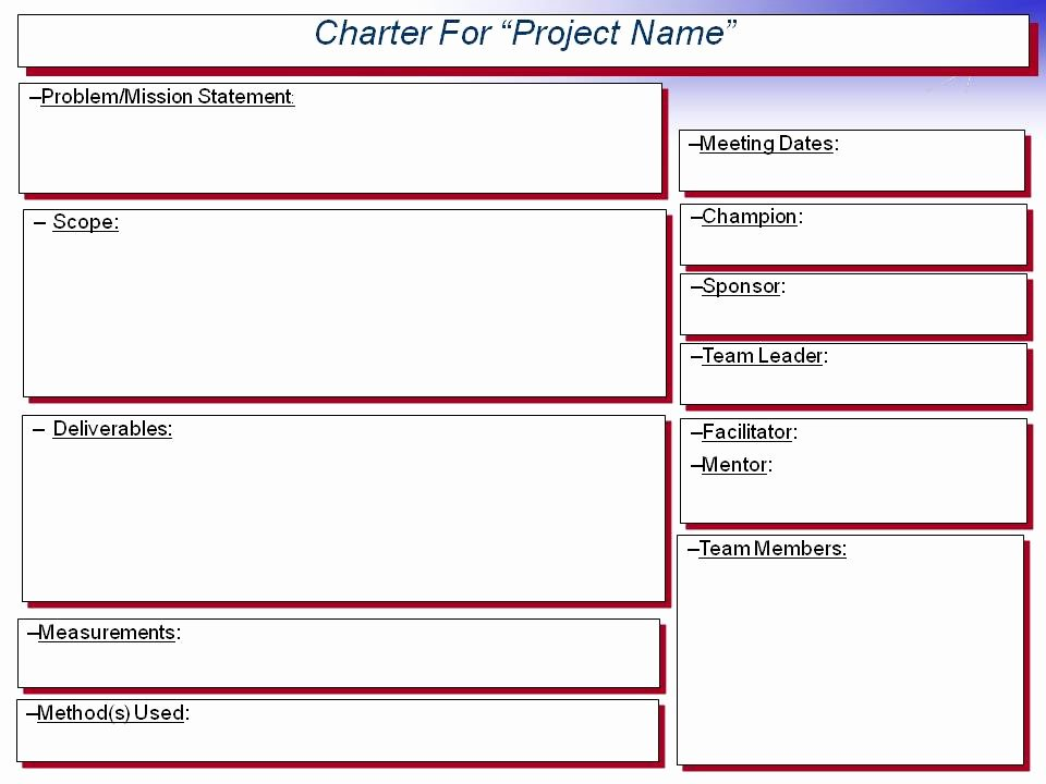 Simple Project Charter Template Inspirational Dmdegrace