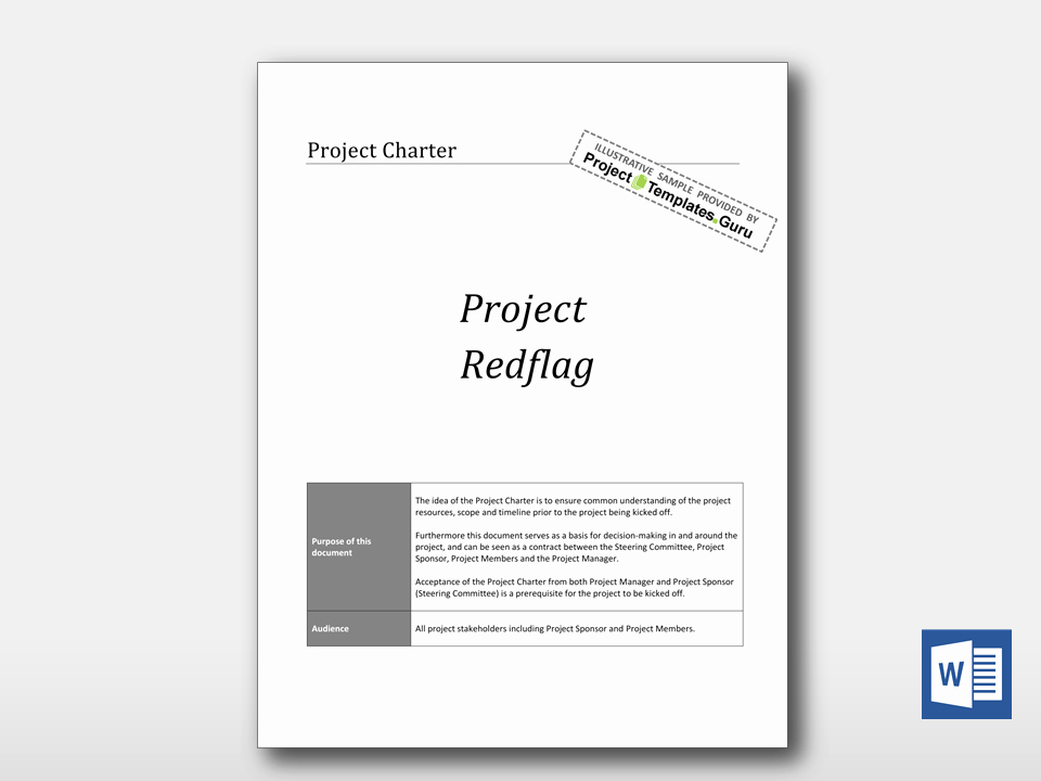 Simple Project Charter Template Unique Simple Project Charter Project Templates Guru