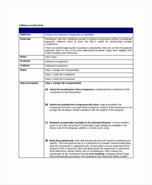 Simple Project Scope Template Inspirational 8 Project Scope Templates Free Pdf Word Documents