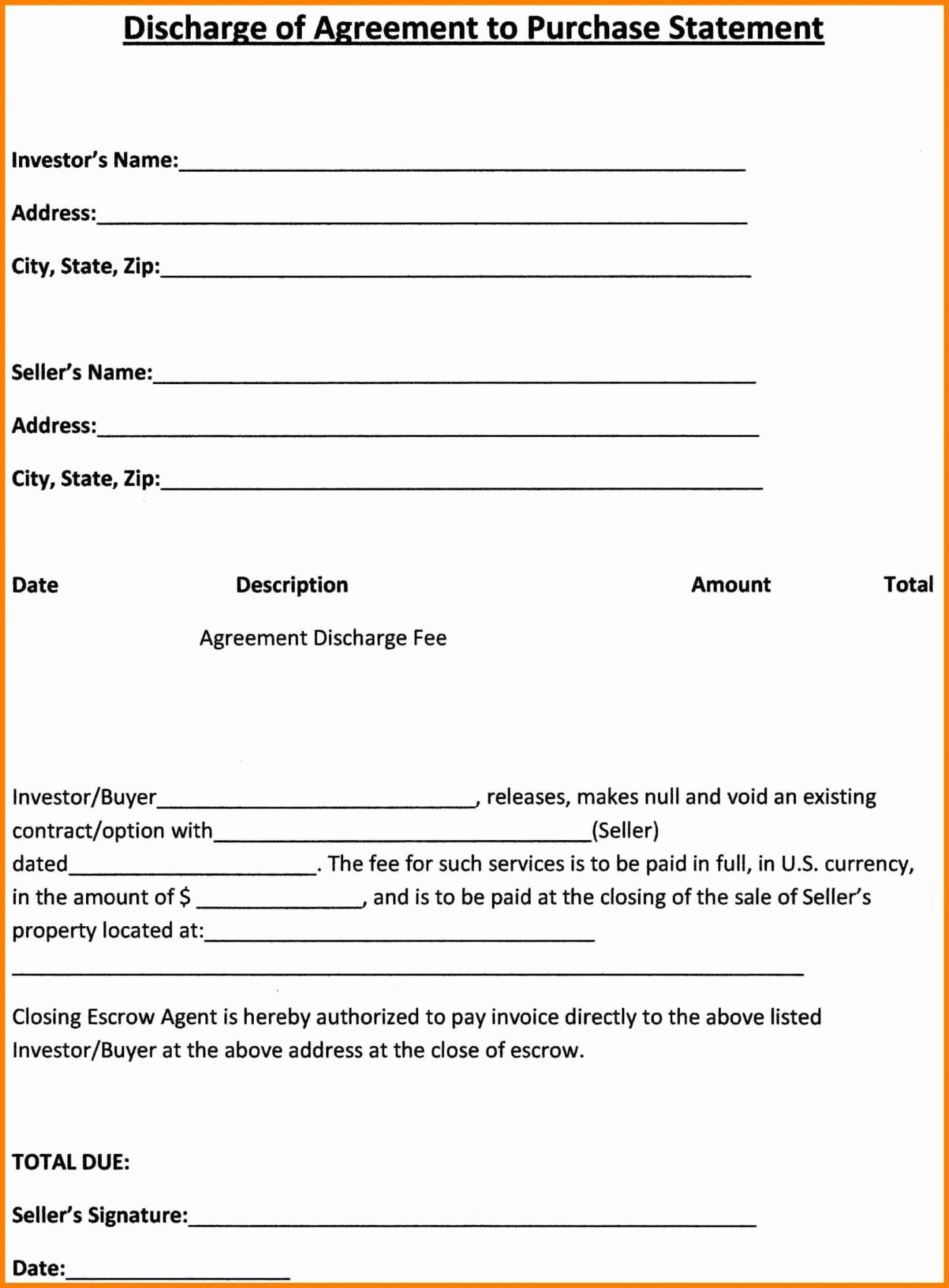 Simple Purchase Agreement Template Best Of Land Sale Agreement Template Regular Free Simple Real