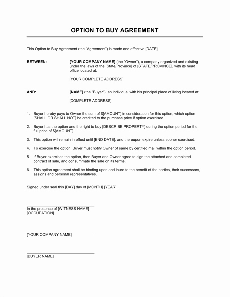 Simple Purchase Agreement Template Luxury Simple Purchase Agreement Template