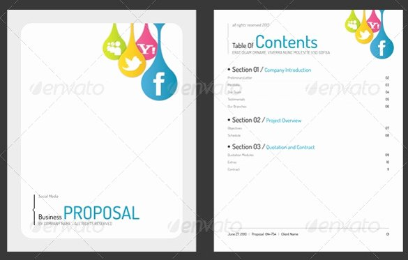 Simple Rfp Template Word Elegant 31 Free Proposal Templates Word