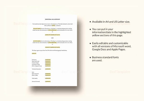Simple Sales Agreement Template Elegant 16 Sample Consignment Agreement Templates to Download