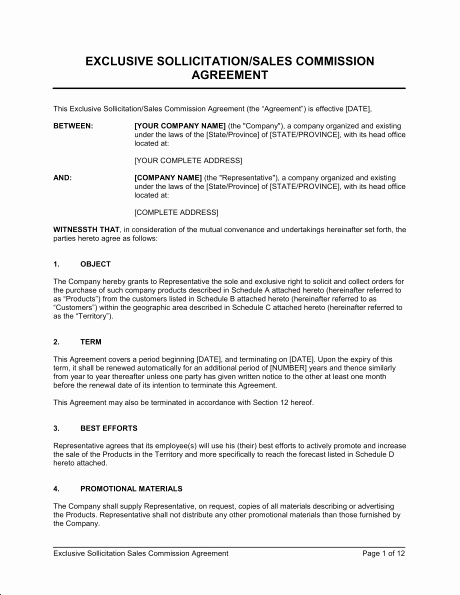 Simple Sales Agreement Template Elegant 8 Best Of Simple Mission Agreement Sales