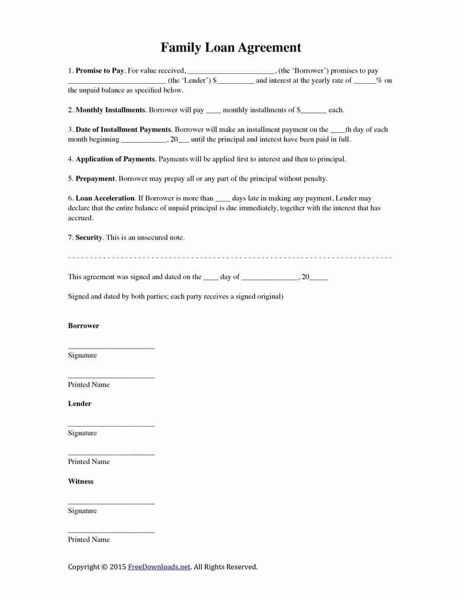 Simple Settlement Agreement Template Fresh Agreement Letter Sample Pdf