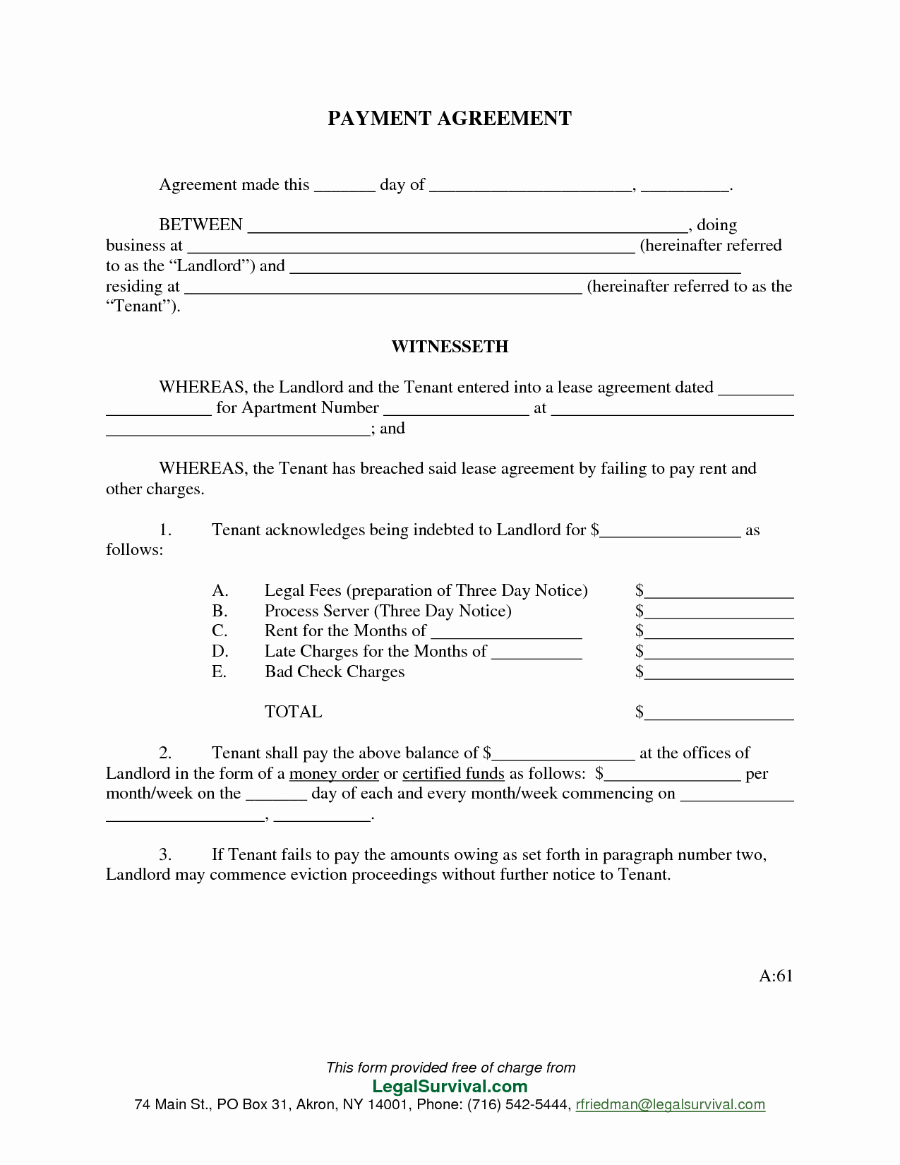 Simple Settlement Agreement Template Luxury 9 Best Of Payment Settlement Agreement Template