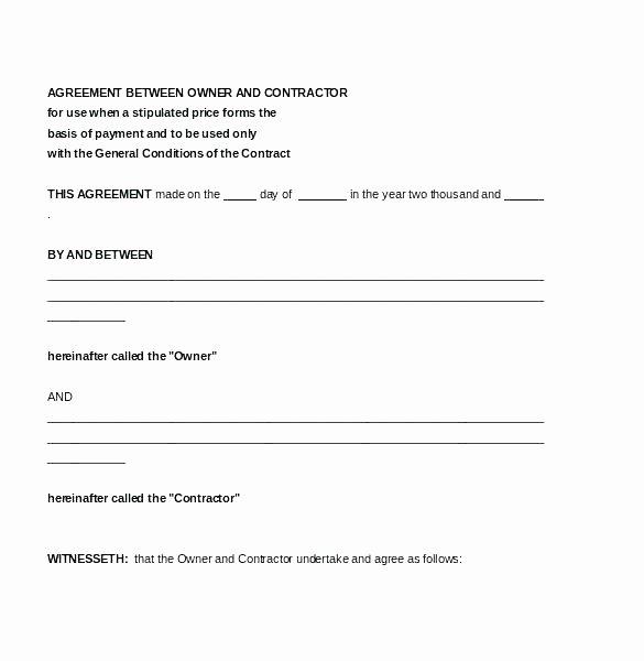 Simple Vendor Agreement Template Elegant Simple Vendor Agreement Template