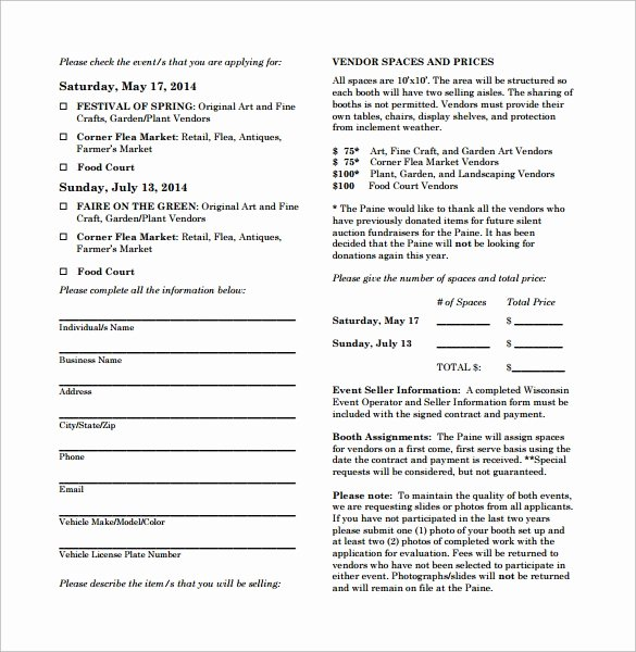 Simple Vendor Agreement Template New Vendor Contract Template 9 Download Free Documents In
