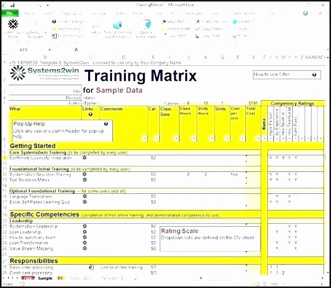 Skills Matrix Template Excel Beautiful Skill Matrix Template for Employees – Virtualisfo