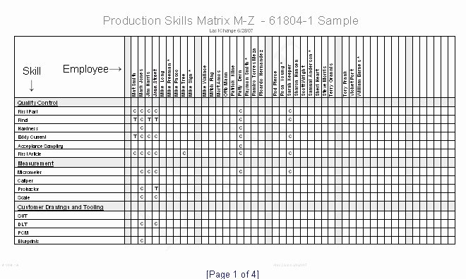 Skills Matrix Template Excel Unique Skills Matrix Template Excel Skill Matrix Templates Station