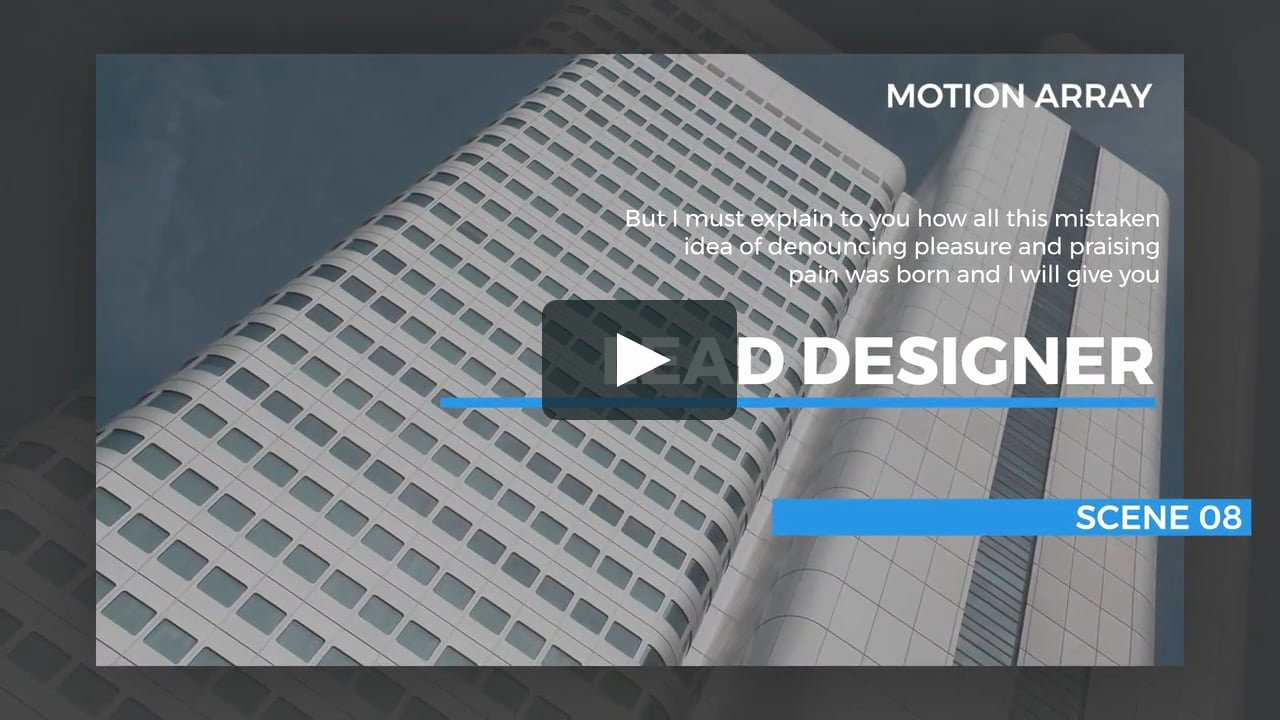Slideshow Template Premiere Pro Beautiful Modern Slideshow Premiere Pro Templates On Vimeo