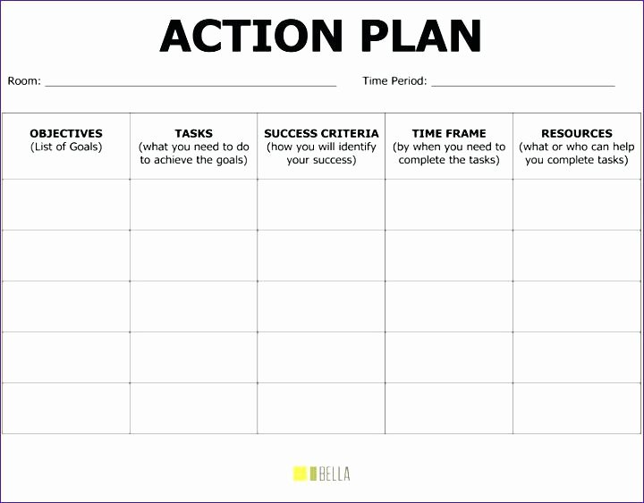Smart Action Plan Template New Printable Smart Goals Template Tar Setting Worksheet