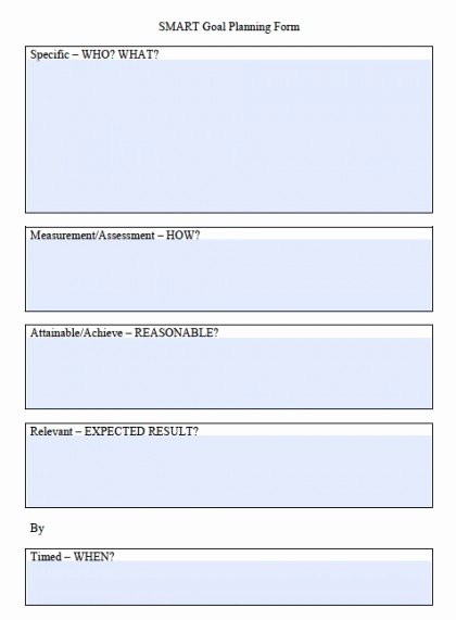Smart Goal Template Pdf Inspirational Download Smart Goals Worksheet Templates Excel