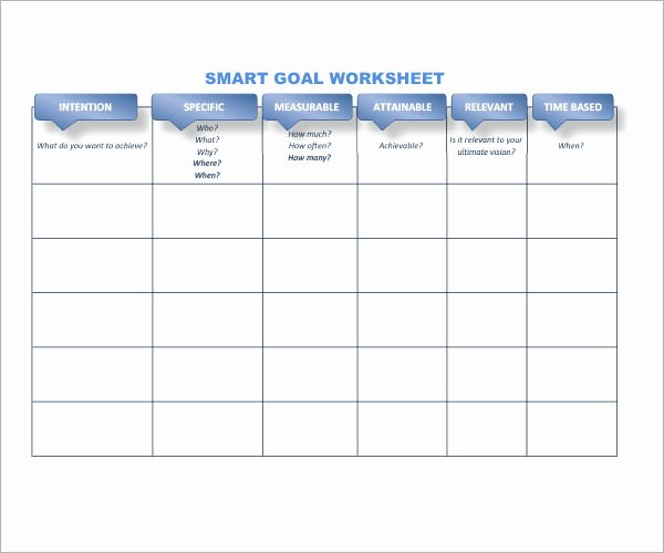 Smart Goal Template Pdf Inspirational Smart Goals Template 15 Download Free Documents In Pdf
