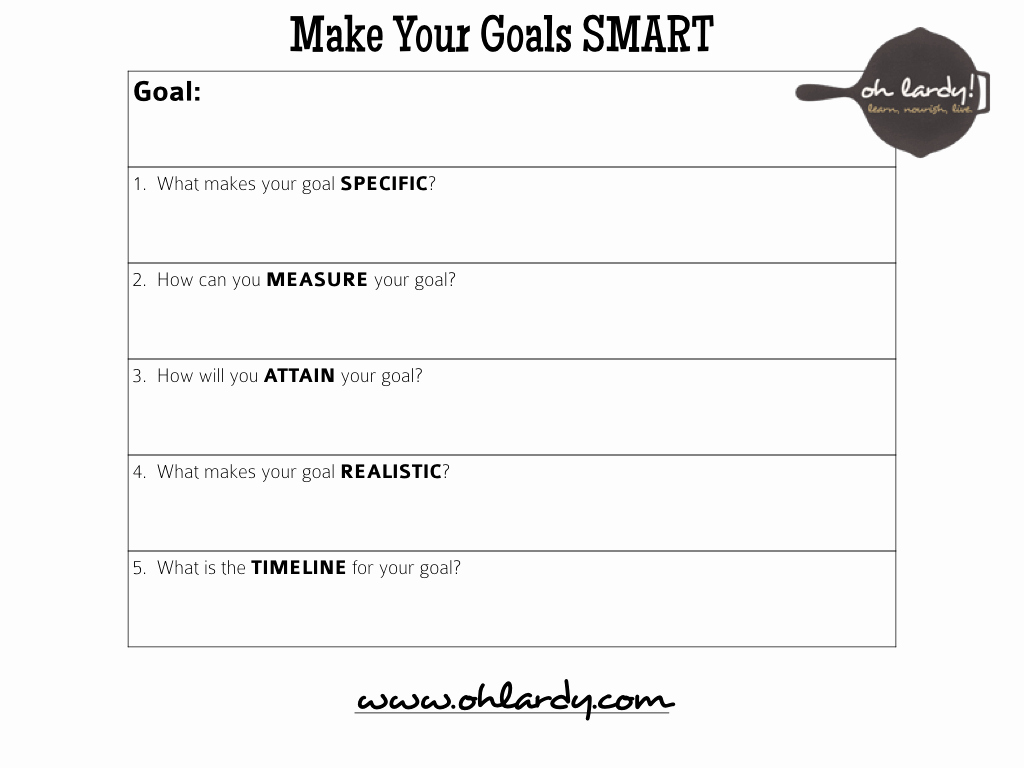 Smart Goal Template Pdf Lovely 6 Tips for Reaching Your Goals and A Free Goal Setting