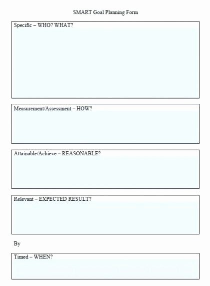 Smart Goals Template Excel Beautiful Smart Tar Template – Stormcraft