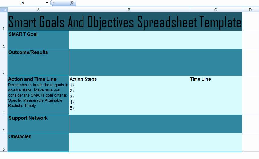 Smart Goals Template Excel Fresh Get Project Munication Plan Template Spreadsheet