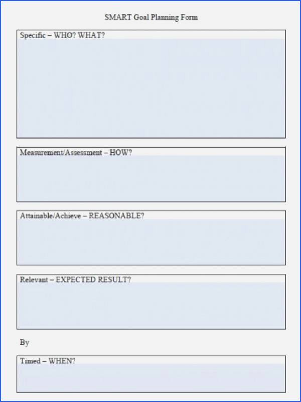 Smart Goals Template Excel Lovely Smart Goals Excel Template Gallery Simple Template Word