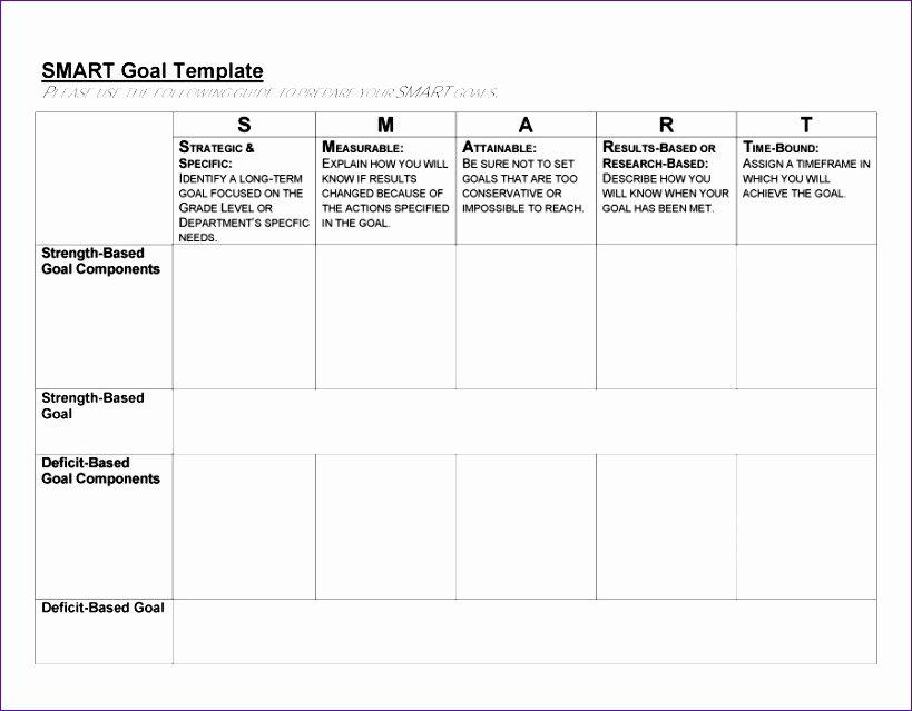Smart Goals Template Excel Luxury 10 Smart Goals Template Excel Exceltemplates