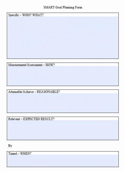 Smart Goals Template Excel Unique Smart Goals Template Excel