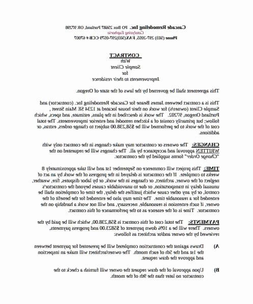Snow Removal Contracts Template Luxury Snow Plow Contract Template Beautiful top Result 50