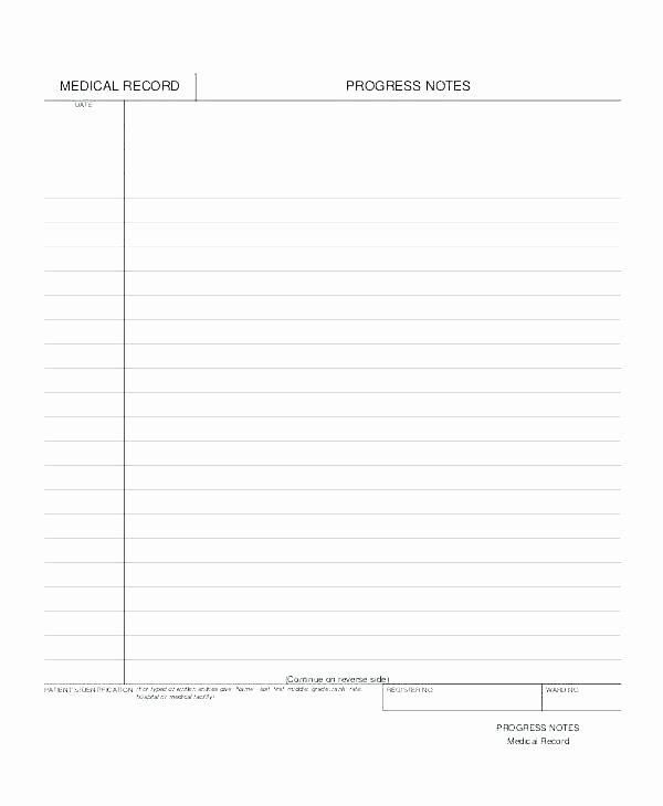 Soap Note Template Pdf Awesome Blank soap Note – Ivanparada