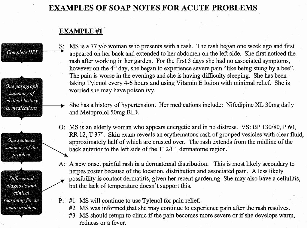 Soap Progress Note Template Elegant Sample Occupational therapy soap Note Google Search