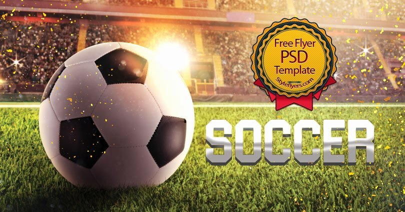 Soccer Flyer Template Free Awesome soccer Free Psd Flyer Template Free Download