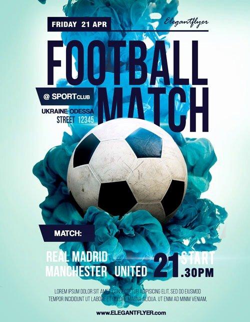 Soccer Flyer Template Free Best Of soccer Match Free Sport Flyer Template Download Flyer