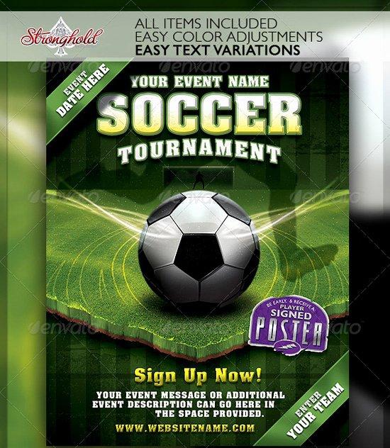 Soccer Flyer Template Free Elegant top 20 soccer Football Flyer Templates 56pixels