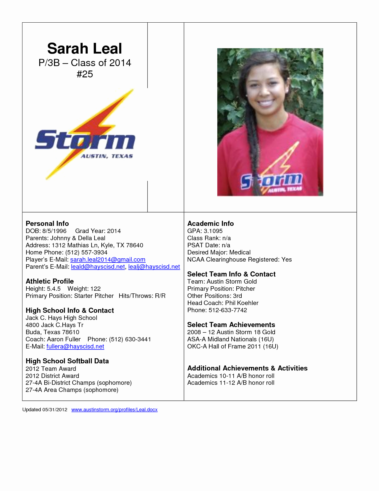 Soccer Player Profiles Template New Best S Of athlete Bio Template Football Player