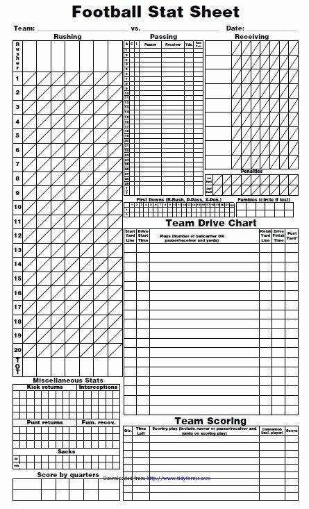 Soccer Score Sheet Template Awesome 13 Free Sample Football Score Sheet Templates Printable