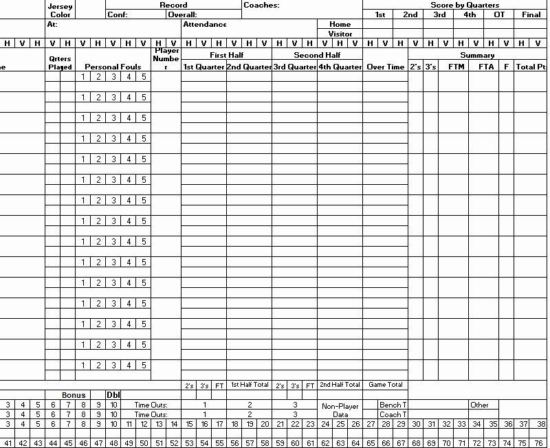 Soccer Score Sheet Template Lovely the Gallery for soccer Score Sheet