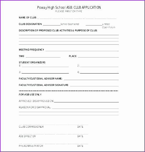 Social Club bylaws Template Unique Church Registration form Template Word Doc – Btcromaniafo