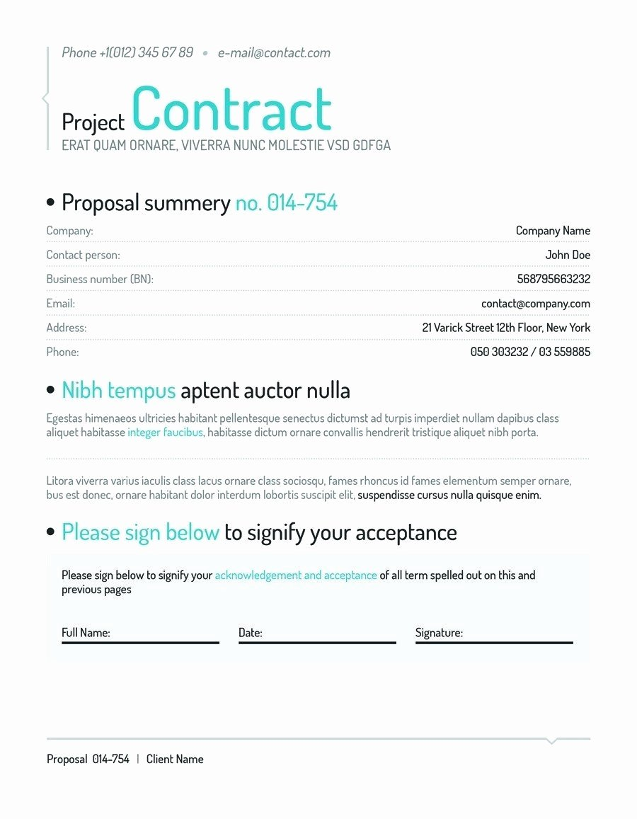 Social Media Contract Template Beautiful [template] social Media Contract Bonsai