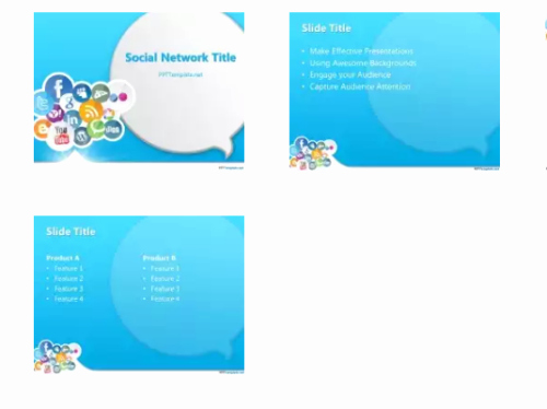 Social Media Powerpoint Template Fresh 15 Free social Media Presentation Powerpoint Templates