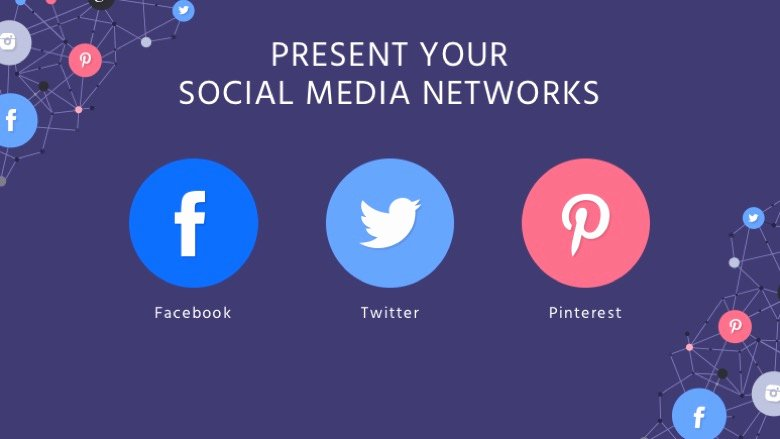 Social Media Powerpoint Template Fresh social Media Google Slides Template Free Google Slides