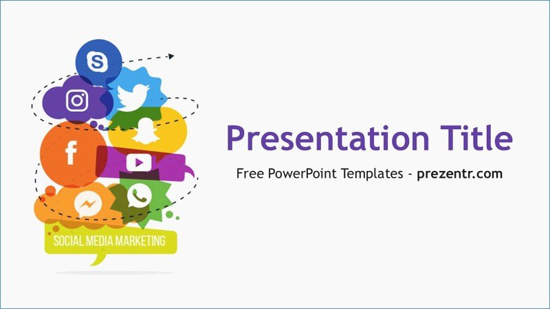 Social Media Powerpoint Template Fresh social Network Powerpoint Template – Harddancefo