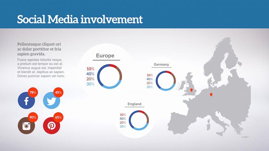 Social Media Powerpoint Template Inspirational social Media Powerpoint Template