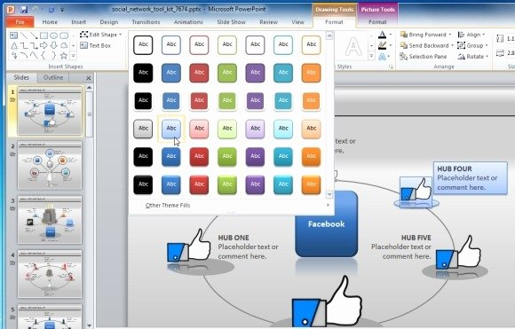 Social Media Powerpoint Template Luxury Animated social Network Powerpoint Template for Presentations