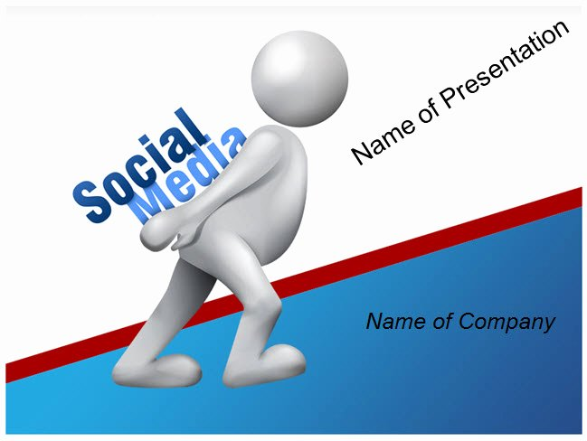 Social Media Ppt Template Awesome social Media Powerpoint Template Ppt Slides Templates