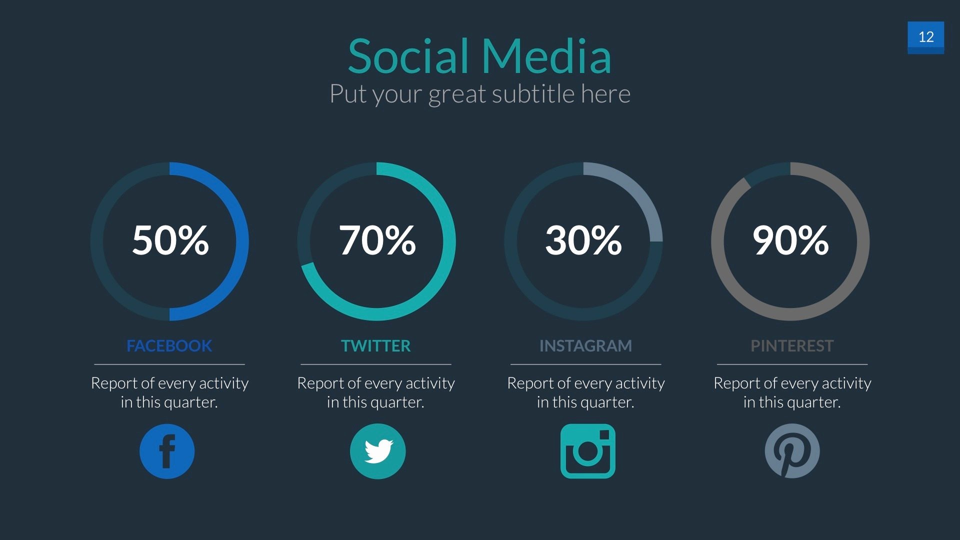 Social Media Ppt Template New social Media Powerpoint Presentation Template by