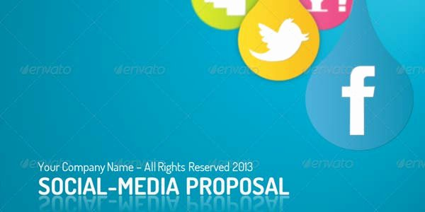 Social Media Proposal Template Lovely social Media Apps Future social Media Proposal Ppt
