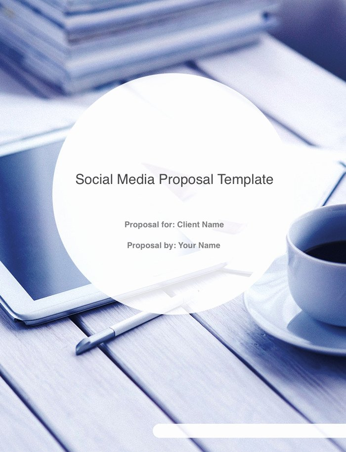 Social Media Proposal Template Luxury the Ultimate social Media Proposal Template Free Download